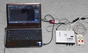 E-ZEUSとパソコン.JPG